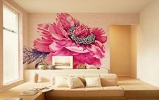 厦门客厅墙绘
