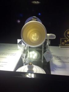 元首杯 杯里寿星图案