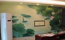 厦门电视背景墙墙绘