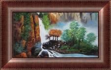 中国风油画