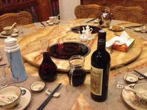 餐桌 红酒
