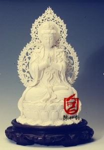 从明代德化瓷到现代中国白陈仁海
