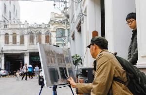 首届中国南方油画山水画派海口写生活动启动