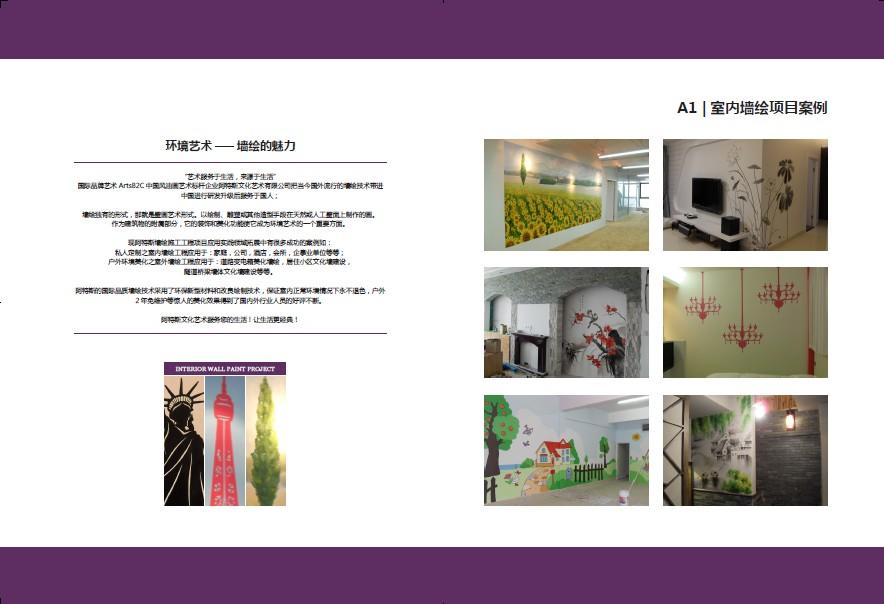 室内墙绘项目案例