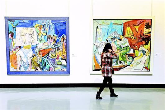去武汉美术馆感受中国油画百年