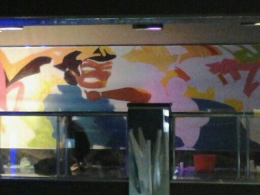 厦门莲坂欢唱KTV过道客户墙绘案例展示