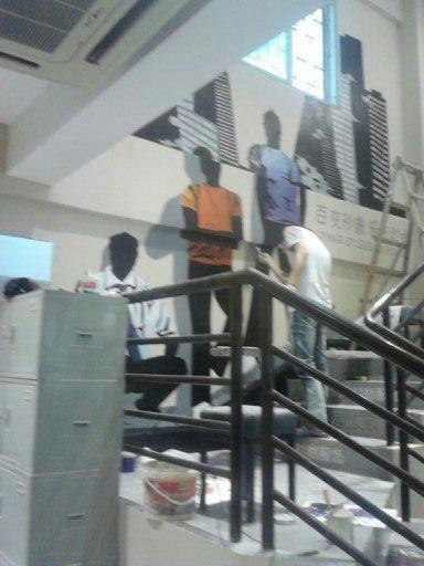 厦门同安服装店客户墙绘案例展示