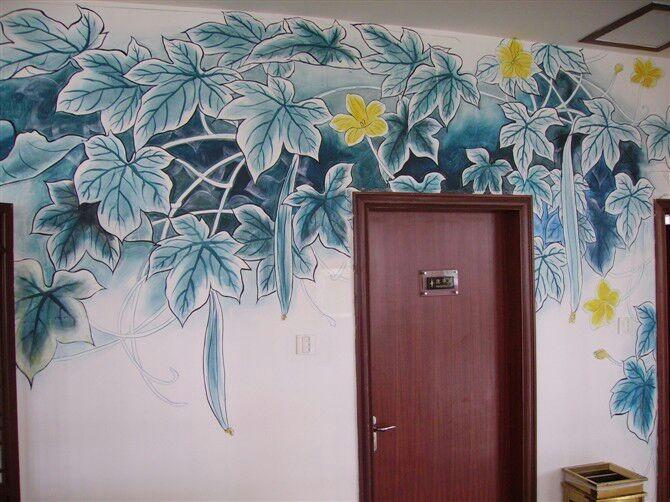 鼓浪屿家庭旅馆客户墙绘案例展示