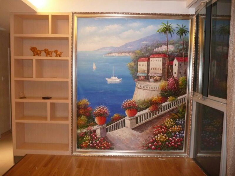 """台州墙绘师为你家画出一个""""世外桃源"""""""