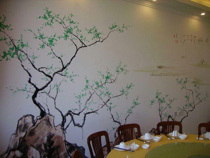杏林酒店客户墙绘案例展示
