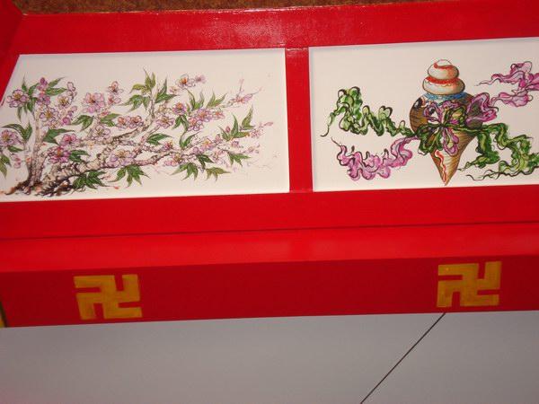 寺院手绘墙