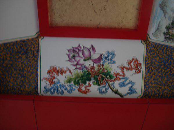 庙宇手绘墙