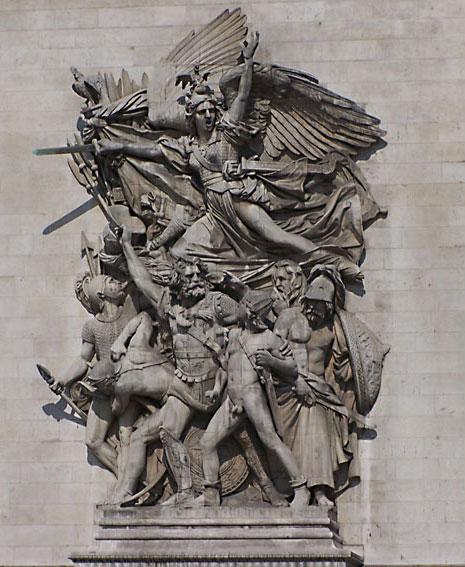 法国雕塑家吕德《马赛曲》
