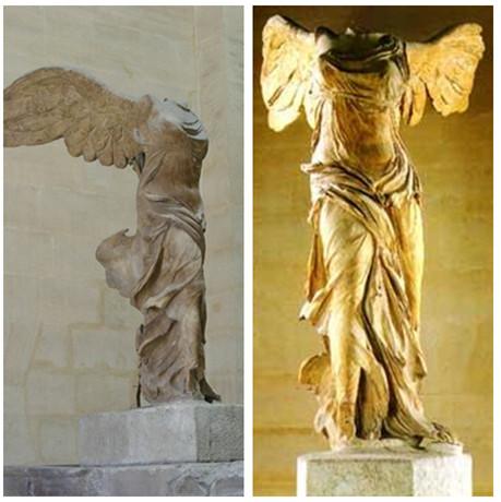 希腊雕塑《胜利女神》