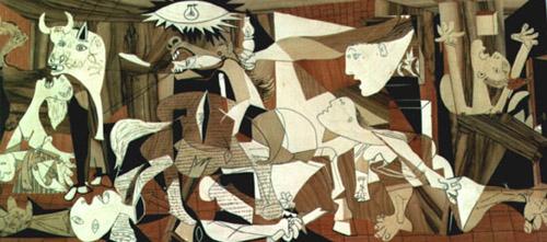 毕加索《格尔尼卡》(1937)