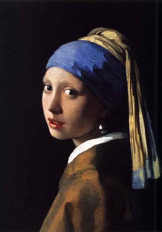 名画《戴珍珠耳环的少女》