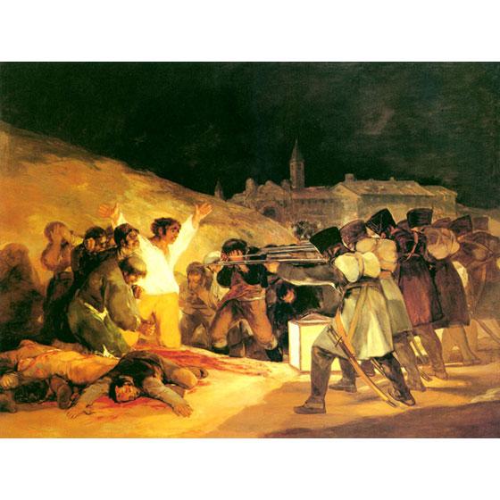 《1808 年5 月3 日夜枪杀起义者》