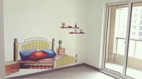 厦门样板房墙绘案例展示