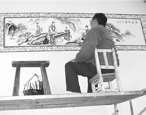 这样的墙画你竟然没有见过?!她是历史的沉淀!