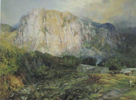 《山中人家》- 怀特油画