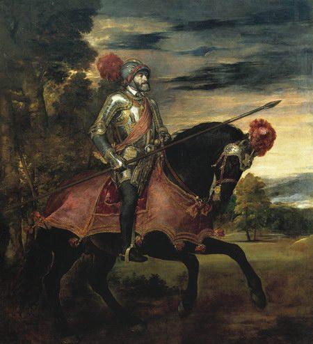 查理五世骑马像